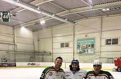 Augenlaser operation iClinic der kanadische Eishockeyspieler Mathew Maione 13