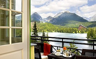 Grand Hotel Kempinski in der Hohen Tatra