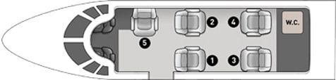 Wählen Sie Ihren gewünschten Sitzplatz, indem Sie einen Sitz auf dem Flugzeugbild auswählen.
